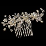 Twilight Designs Bridal or Bridesmaid Tiara Hair Comb TLH3016