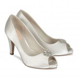 Paradox Pink Lustre Ivory Dyeable Wedding Shoes