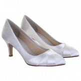 Rainbow Club Ivory Dyeable Wedding Shoes Lexi