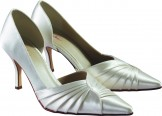 SANDY by Rainbow Club Wedding Shoes Dyeable Bridal Shoes- SALE!