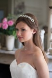 Rainbow Club Headdress Bluebell Bridal Tiara Headband