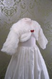 Sasha - Childs Faux Fur Shrug