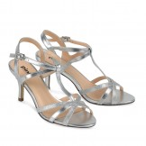 Paradox Pink Silver occasion shoes Georgina