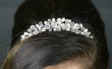 Twilight Designs Bridal or Bridesmaid Comb Tiara TLH3025