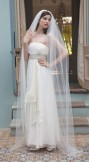 Rainbow Club Starfire Ivory Bridal Veil 96 inches long