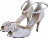 Diane Hassall Primrose Vintage Lace Wedding Shoes