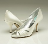 Belle by Paradox MOONSTONE Wedding Shoes Dyeable Bridal Shoes