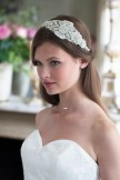 Rainbow Club Headdress Laurel Bridal Tiara Headband