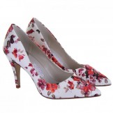 Rainbow Couture Valentina Floral Wedding Shoes