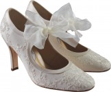 Diane Hassall BUTTERCUP Wedding Shoes Designer Bridal Shoes