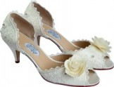 FAIRYTALE low heel Wedding Shoes