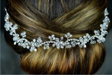 Crystal and Diamante Hair Vine