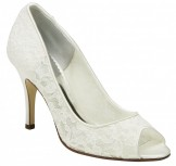 Paradox Belle PACIFIC Ivory Lace Wedding Shoes NEW
