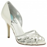 Paradox Belle VIOLET Ivory Wedding Shoes NEW