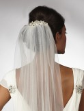 Linzi Jay Arianna Veil Comb AR431 Bridal Tiara
