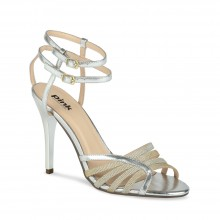 Silver Evening Shoes Gala