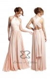 MultiWrap Dress Dusty Peach