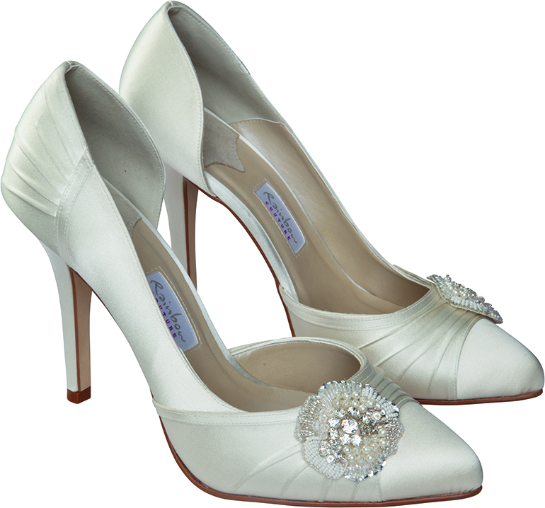 Rainbow Couture Sasso Dyeable Wedding Shoes SALE