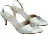 Rainbow Couture Moreni Dyeable Wedding Shoes NEW