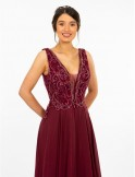 Prom Frocks PF9628 Wine Prom Dress or Evening Gown