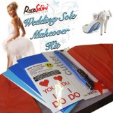 Wedding Shoe Sole Makeover Kit for your Something Blue