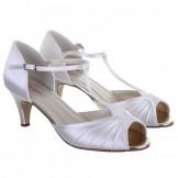 Rainbow Club Ivory Dyeable Wedding Shoes Katy
