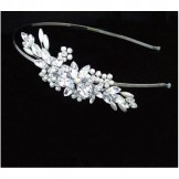 Aspen Bridal Tiara - Vintage Side Band - Ellie K by Liza Designs
