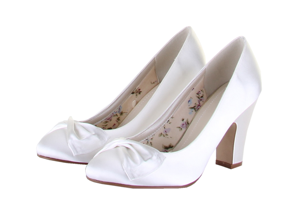 Dyeable Satin Wedding and Bridal Shoes