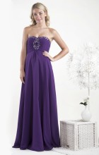Gino Cerruti Evening Gown 1331W Purple