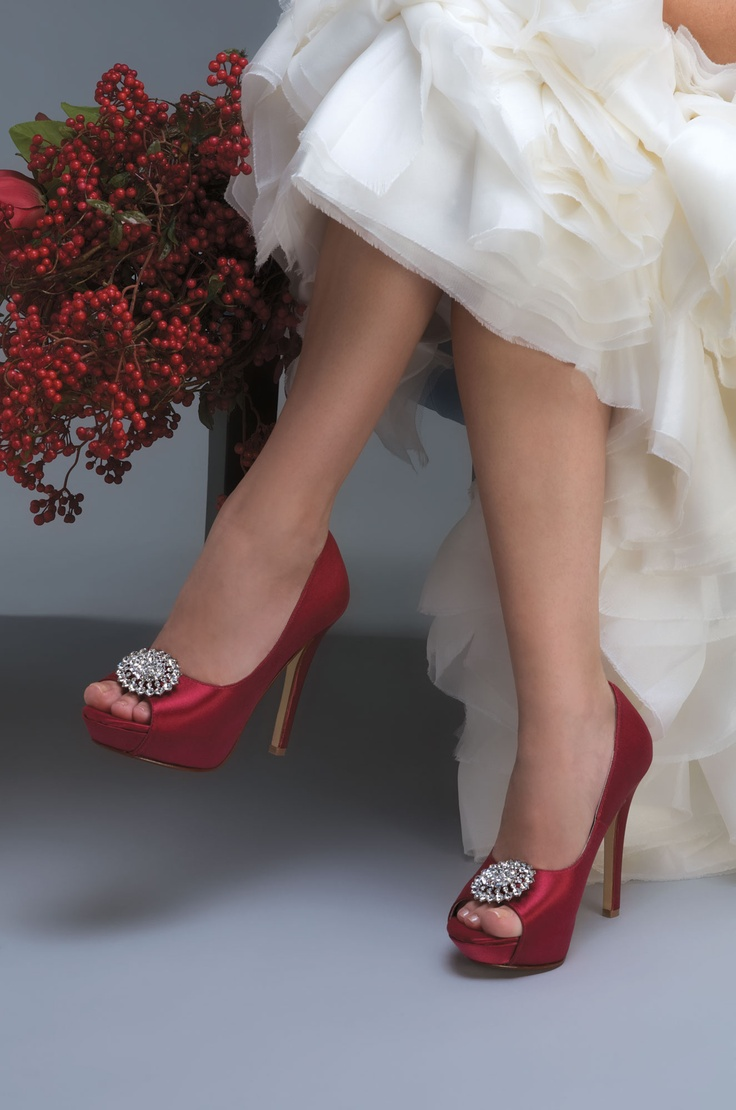 90467448d923 Red Shoes - Red Wedding Shoes - Bridesmaid Shoes