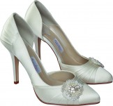Rainbow Couture Sasso Dyeable Wedding Shoes NEW