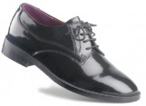 Tom - Boys Black Patent Formal Shoes