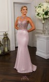 Prom Frocks PF9657 Pink Prom Dress or Evening Gown
