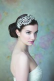 Rainbow Club Anemone Vintage Style Diamante Side Tiara