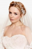 Crystal and Diamante Bridal Hair Vine on a Comb Linzi Jay LP672