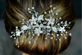 Diamante bridal Hair Comb
