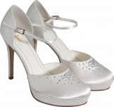 Else by Rainbow Club Margarita Dyeable Wedding Shoes