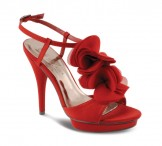 Lunar JLR062 Red Platform Sandals Wedding Shoes