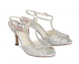 Paradox Pink Glow Ivory Wedding Shoes