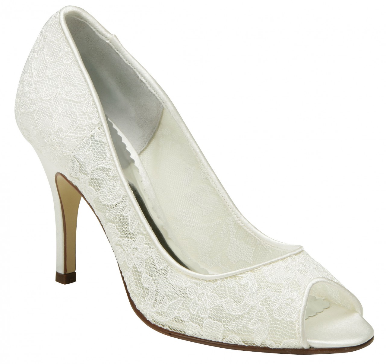 Paradox Belle PACIFIC Ivory Bridal Shoes Lace Wedding Shoes SALE
