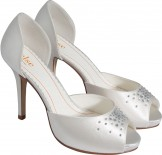 Else by Rainbow Club Pina Colada Dyeable Wedding Shoes