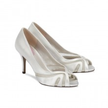 Toffee Dyeable Bridal Shoes