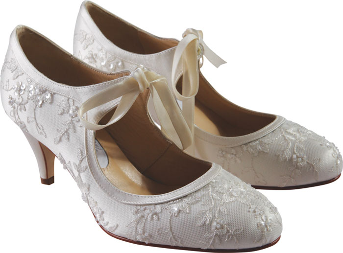 Diane Hassall LILIANA Wedding Shoes Designer Bridal Shoes