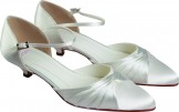 Else Brandy Dyeable Wedding Shoes NEW