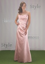 Satin Bridesmaid Dress EN352