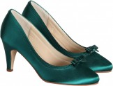 Jade Green Occasion Shoes Daisy