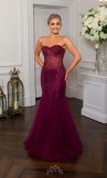 Prom Frocks PF9322 Blackcurrant Prom Dress or Evening Gown