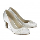 Ivory Wedding Shoes Paradox Pink Ruffle