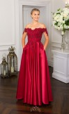 Prom Frocks PF9521 Dark Red Prom Dress or Ball Gown