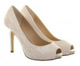 Vintage Dyeable Lace Wedding Shoes Diane Hassall Elerine